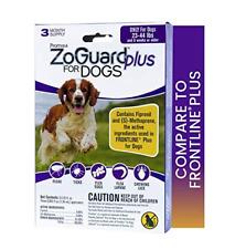 ZoGuard Plus Fleas Eggs Larvae Tick Lice Prevention for Dogs, Medium, 23-44 lbs