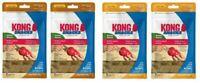 Kong Snacks STUFF'N Dog Treats - (4) 7 oz PEANUT BUTTER & BACON CHEESE - SMALL