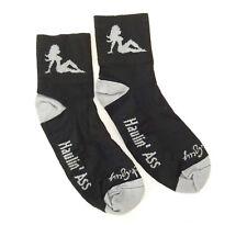 "SockGuy Classic 3"" Mudflap Girl L/XL Cycling/Running Socks 43-48 / 9-13"
