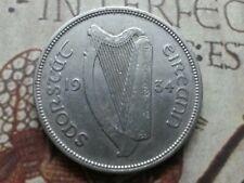 Key Date 1934 Silver Ireland Republic Florin KM# 7 Beautiful Condition