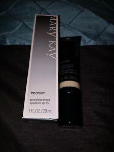 NIB Mary Kay CC Cream Sunscreen Broad Spectrum SPF 15-VERY DEEP FREE SHIP!