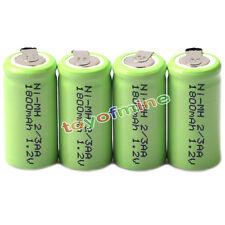 4x Ni-MH 1.2V 2 / 3AA 1800mAh batería recargable de NI-MH Baterías