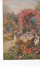 Tucks  Oilette No 3367  All in the Garden is Fair E L Hampshire Oilochrome 1923