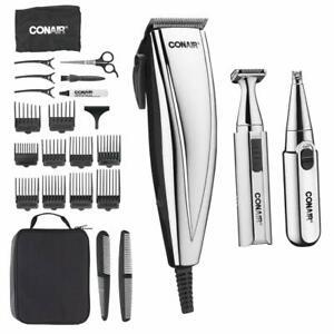 ConairMAN 3-in-1 Chrome Haircut Kit