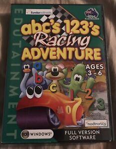 Abcs 123s Racing Adventure. Windows Software