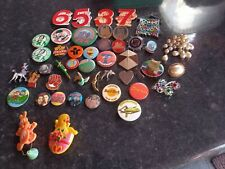 More details for 370+ vintage badges character advertising 1980s badge collection 1990s