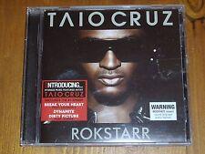 TAIO CRUZ *BONUS TRACK CD  ' ROKSTARR ' 2010 EXC