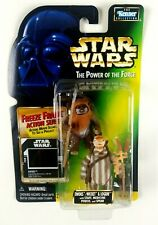 Kenner Star Wars Power of the force Ewoks Wicket and Logray Freeze Frame Figure