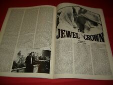 Jewel In The Crown Vanessa Redgrave Satyajit Ray 1983 UK Film Magazine