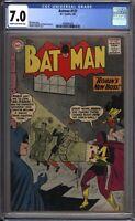 Batman 137 CGC Graded 7.0 FN/VF DC Comics 1961