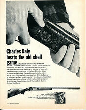 1969 Print Ad of Charles Daly Diamond Grade Shotgun Selexor