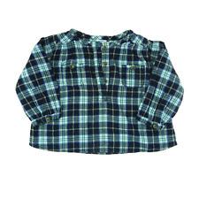 Petit Bateau blouse  à carreaux fille 1 an