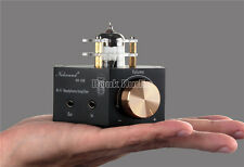 Best NS-02E Stereo Vacuum Tube Headphone Amplifier Class A HiFi Audio Preamp