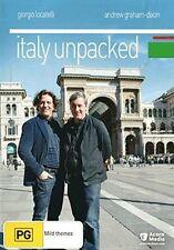 ITALY UNPACKED (Giorgio Locatelli) -  DVD - REGION 4 - Sealed