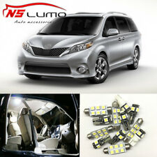 Interior LED Light Bulbs Package Kit for Toyota Sienna 2004-2011 Trunk Door Dome