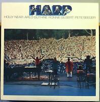 Harp - S/T LP Mint- RR 409 USA 1985 Pete Seeger 1st Vinyl Record w/Insert