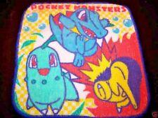 Set of 3 Pokemon Wash Cloths Towel Place Mats Lot Decor Bandai Pocket Monster