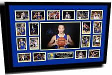 STEPHEN CURRY NBA MVP 2015 SIGNED LIMITED EDITION FRAMED MEMORABILIA