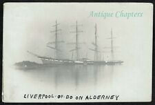 More details for 1902 wreck of the sailing ship liverpool leyland shipping co alderney postcard