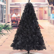 Artificial Christmas 5ft Unlit Black Halloween Pine Tree Party Holiday Decor