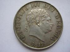 1817 George III Small head Half Crown, GVF/VF. ESC 618.