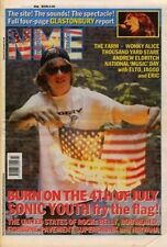 Sonic Youth Glastonbury Nirvana Sugar Pavement Belly Bob Mould Fishbone NME mag