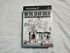 Metal Gear Solid: The Essential Collection (Sony PlayStation 2, 2008) COMPLETE