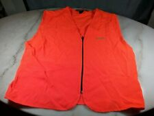 Genuine Remington Orange Lightweight Hunting Safety Vest Mens Sz L (42-44)
