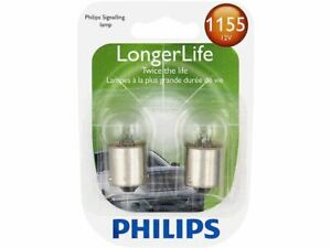 Philips License Light Bulb fits Ford Thunderbird 1985-1997 63BNQF