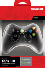 Microsoft Controller Xbox 360 con Adattatore Wireless per PC - Windows