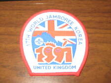 1991 World Jamboree United Kingdom patch    de4