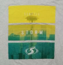 Seattle Storm t shirt L Sue Bird Wnba Basketball Sonics Seahawks Kraken