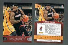 Cromos de baloncesto de coleccionismo LeBron James NBA
