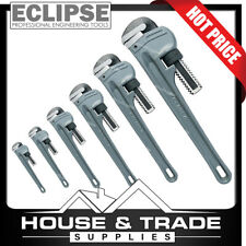 """Eclipse Aluminium Leader Pattern Pipe Wrench - 10"""" / 250mm"""