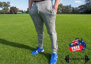Joggers Tapered Track Pants Training Mens Workout Sportswear GYM Sweats Pants