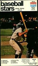 1969 Baseball Stars Stamp Book & Album With Schedule Roberto Clemente Stamp