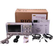 Rigol DS1052E Digital Oszilloskop 50mHz 1GSA/S 2 Kanäle + Aufbewahrung Neu