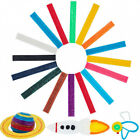 About 640 Pieces Sticky Wax Yarn Stix Monkey String Bendable for Children DIY