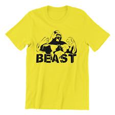Gorilla Bestia Para Hombre Culturismo Gimnasio motivación MMA Entrenamiento Top Camiseta