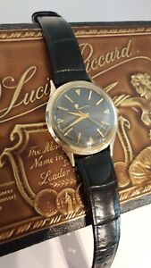 Very Nice 10k Gold Filled SEASHARK by Lucien Piccard - EXCELLENT! RUNS GREAT!!!