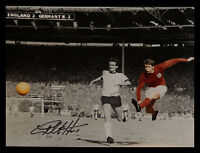*New* Geoff Hurst 12x16 Signed England Football Photograph