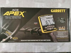 Garrett Ace Apex with ms3 headphones and zlink pinpointer