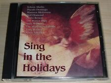 SING IN THE HOLIDAYS CHRISTMAS CD MATHIS DOMINGO MCGOVERN BRYSON WILLIAMS SONY
