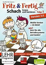 Fritz&Fertig! Folge 1: Schach lernen und trainieren ...   Software   Zustand gut