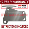 VAUXHALL ASTRA VECTRA MERIVA ZAFIRA EGR VALVE BLANKING PLATE 3MM THICK STEEL NZ
