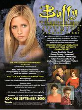Buffy temporada 4 Hoja De Venta Promocional
