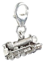 Harry Potter Sterling Silver Hogwarts Express Train Clip on Charm