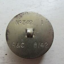 British And Canadian R&C Anti Dimming Mk Vi Cloth In Tin Dated 8/42, Wwii