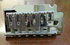 2 Point-Non Locking Strat Type Tremolo System Bridge - 6 String-Chrome - New