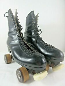 Vintage Riedell Chicago Panther Roller Skates Men's Size 8.5 Premier FO-MAC
